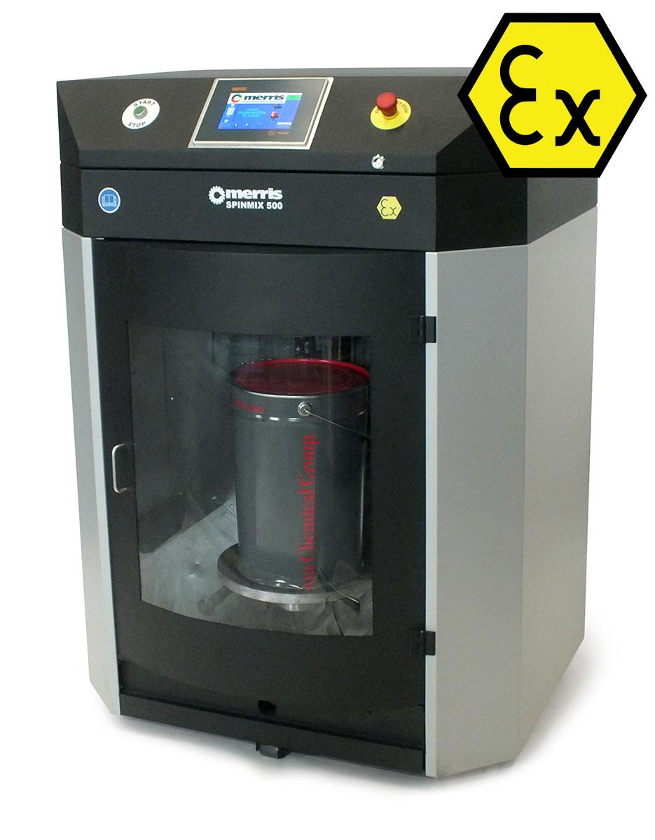 Spinmix 500x ATEX, Gyroscopic Paint Mixer